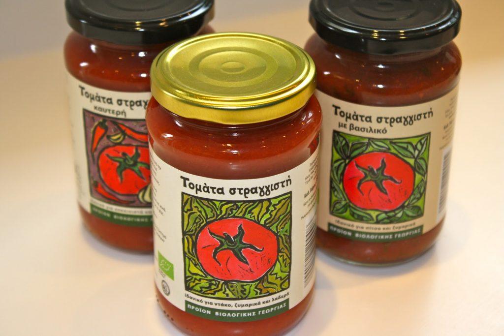 Gousiaris Bio Tomatensaft und Honig, Bakaliko Graz